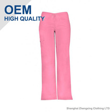 Pink Rose Pants In Fashionable Style