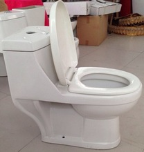 India style washdown one peice wc / commode/water closet with Dual flush