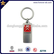 Die cast logo metal keychain