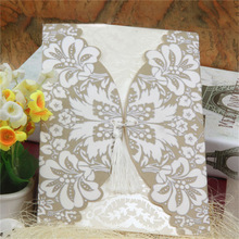 Customized order welcome most popular classic invitation card