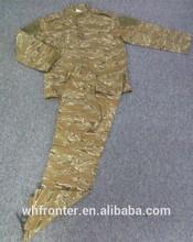 Polyester/Cottton Tiger Stripe ACU Camouflage Military Uniform