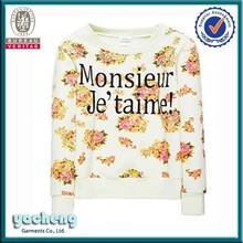 fashion printing christmas dog swetaer polar fleece jacket christmas sweater for women
