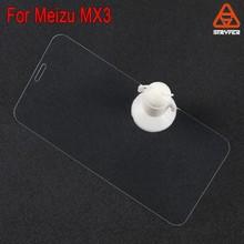 Wholesale Anti Bubble 9H 2.5D Anti Oil For Meizu MX3 tempered Glass Screen protector