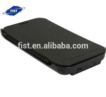 3600 mAh External Backup Battery power case with flip cover for Samsung Galaxy Note II/Note2/n7100