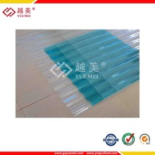 solid polycarbonate hollow pc corrugated sheet plastic muilding 100% virgin lexan material for roofing greenhouse car shelter