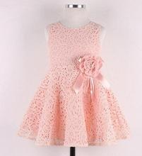 2015 Wholesale Girls Children Lace Dresses
