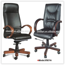 modern design swivel leather chair of the office