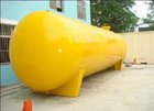 Various volume heavy fuel oil tank & petrol oil container