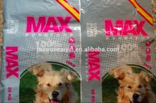 waterproof plastic packaging 20kg dog food bag