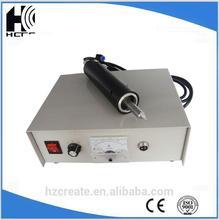 handtype food industry ultrasonic cutting equipment ultrasound cutter Denim fabric cutting