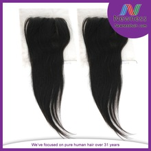 2014 new arrival fast delivery brazilian hair new style lace closures in stock