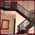 preço de madeira e pintura ferro escadas corrimão