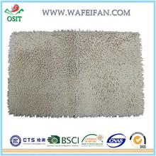 chenille microfiber antislip transparent bath mat2014