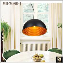 Flose MD-7080-1 Modern aluminum pendant lamp,modern copper pendant lamp,modern golden pendant lamps.