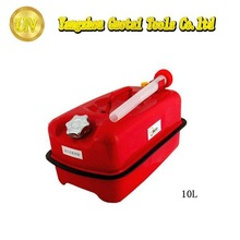 10L factory direct cheap lying style metal gas cans