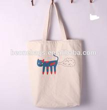 China online shopping foldable reusable canvas fashion shopping bag