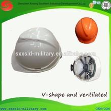 CE standard lightweight mining helmet industrial worker ABS PE safety helmet