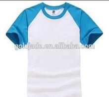 fashion raglan t shirt hot sale 2014 factory Goldjade