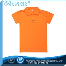 washed Guangzhou polyester/cotton polo shirt stone wash