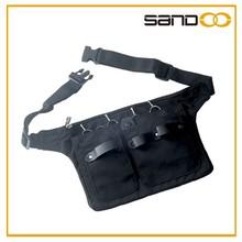 Canvas salon waist tool pouch, hairdressing scissor waist bag