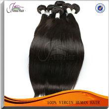 Easy to Dye & Curl & Heat Raw Natural Virgin Hair Indian Hair