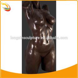 Erotic Sculpture Antique Nude Woman Bronze Sculpture Natural Nude Sculpture Woman