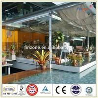 beautiful glass door export to Singapore
