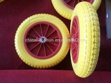 China provide wheelbarrow tire/pu tyre 3.00-8
