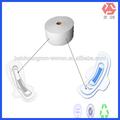 Tecido não tecido biodegradável matérias-primas para absorventes higiênicos