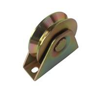 coulissant roues porte en métal