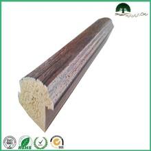 Wood grains plastic decor moulding PS picture frame wholesale