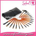 20pcs cosmetic tools set for facial makeup