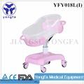 yfy018l iso ce aprobado de plástico del bebé cuna cama infantil