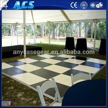 portable dance floor wood,wear-resistant wood dance floor ,30mm thick strong wood dance floor