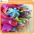 poly mesh arcos de plástico decoração de natal guirlanda