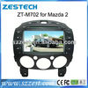 ZESTECH central multimedia player car stereo for Mazda 2 with radio gps navi, digital tv optional