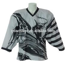 Custom 100% polyester ice hockey shirt for team/club/school/league