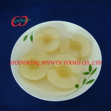 High quality canned snow pear halves in light syrup with good price