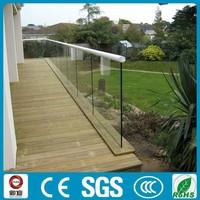 Outdoor plexiglass deck railing modern deck railing
