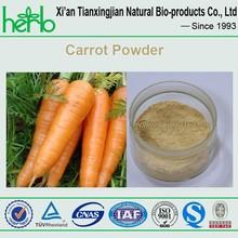 Factory Carrot powder