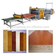 PUR hot melt glue laminating machine/ PVC mdf PUR roller laminating machine