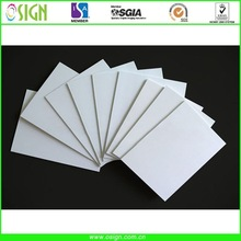 Waterproof rigid PVC foam board / sheet for advertising / printing / furnitures/cabinets
