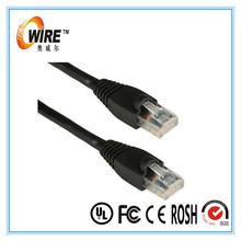 Network unshield cat5e rj45 connect jumper cables