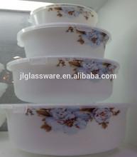 Jielong Opal Glass Bowl set / Opal glassware