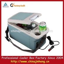 6L mini coche portátil refrigerador / congelador, Eléctrico del coche refrigeradores, Pequeño refrigerador del coche
