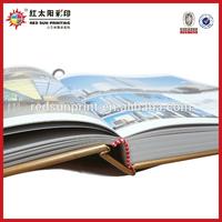 Coated Paper Perfect Binding Souvenir Book Design & Printing