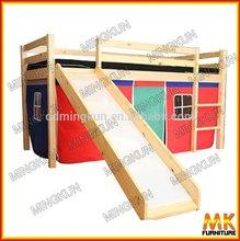 high quality cheap kids furniture wood bunk beds