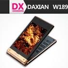 Original 3G Old Man Daxian W189 MTK6572 Dual core 2MP+5MP Dual Cameras 512MB Ram 4GB Rom Dual Screen Flip Mobile Phone