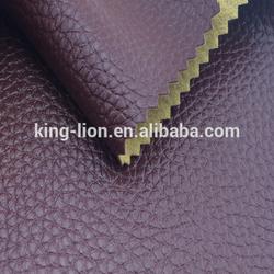 Sofa upholstery fabric semi pu leather