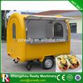 Rua carrinho de comida trailer/carrinho para vender doces/elétrico carrinho de cachorro quente para a venda